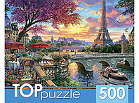 Пазлы 500 элементов в ассортименте (TOPpuzzle), эконом коробка