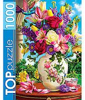 Пазлы 1000 элементов в ассортименте (TOPpuzzle), эконом коробка