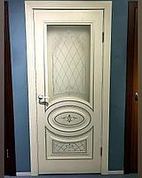 Межкомнатные двери Модель: Новелла ясень серый