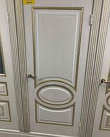 Межкомнатные двери Модель: Неаполь ясень золото