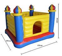 Надувной игровой центр - батут «Замок» Intex 48259