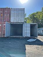 Пустой жд контейнер