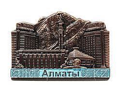 "Магнит на Тойбастар ""Алматы"", 9 см"
