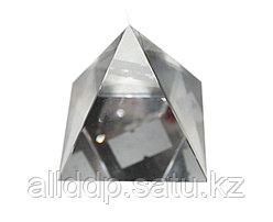 Фэн-шуй пирамида, стеклянная, 7 см
