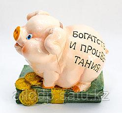 "Копилка поросенок ""Богатства и процветания"", 15 см"