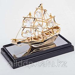 """Сувенир """"Корабль с парусами"""" 10*12 см"""