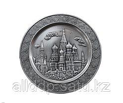 """Сувенирная тарелка на стену """"Москва"""", 28 см"""
