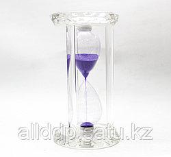 Песочные часы, фиолетовые,16*9 см
