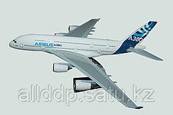 "Самолет-сувенир, ""AIRBUS A380"", 460 мм"