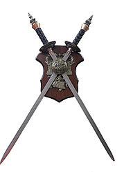 Перекрещенные мечи сувенирные, 70 см