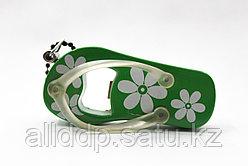 Зажигалка + открывалка для бутылок, зеленая
