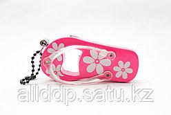 Зажигалка + открывалка для бутылок, розовая