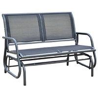 Садовые качели-скамейка 123х70х91см