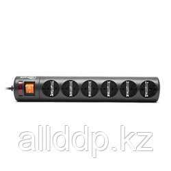 """Сетевой фильтр """"Tripplite cетевой фильтр ,6 розеток(10A,50-60Hz,220-230V) black,3 m M:GR16-1379T-3"""""""