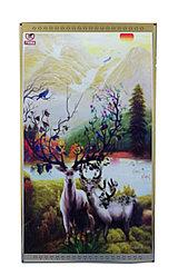 """Инфракрасный электрообогреватель-картина """"2 оленя"""", 800 ват, 105*59 см"""