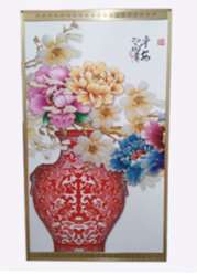 """Инфракрасный электрообогреватель-картина """"Китайская ваза"""", 500 ват, 105*59 см"""