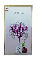 """Инфракрасный электрообогреватель-картина """"Фиолетовый цветок"""", 800 ват, 105*59 см"""