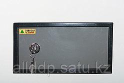 Встраиваемый сейф, черно-серый, 44 см