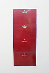 Сейф-шкаф, 4 ящика, 150 см
