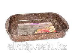 4998 FISSMAN Форма для запекания 35x25x6 см (алюминий с антипригарным покрытием)