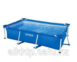 Бассейн каркасный 220х150х60 см, V-1622л, Intex Small Frame Pool 28270