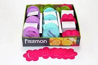 7650 FISSMAN Набор из 4 подставок под стаканы 9 см (силикон)