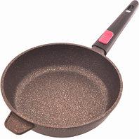 4228 FISSMAN Глубокая сковорода REBUSTO 24x6,5 см со съемной ручкой (алюминий с антипригарным покрытием)