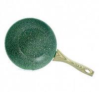 4311 FISSMAN Сковорода для жарки MALACHITE 24x4,9 см с индукционным дном (алюминий с антипригарным покрытием)