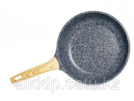 4421 FISSMAN Сковорода для жарки SPOTTY STONE 24x5,5 см с индукционным дном (алюминий с антипригарным покрытие
