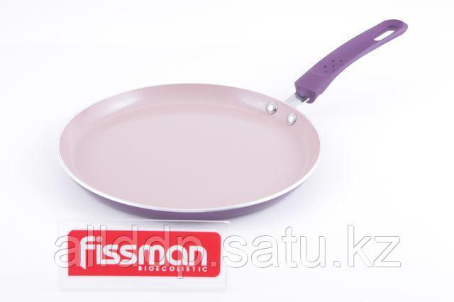 4824 FISSMAN Сковорода для блинов AMORET 24 см (алюминий с керамическим антипригарным покрытием)