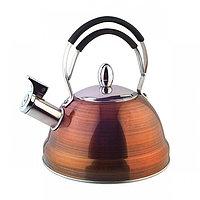 5910 FISSMAN Чайник для кипячения воды CAIRO 2,3 л (нерж. сталь)
