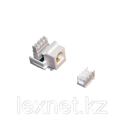 Модуль для информационной розетки SHIP M256-1 Cat.3 RJ-11 UTP, фото 2