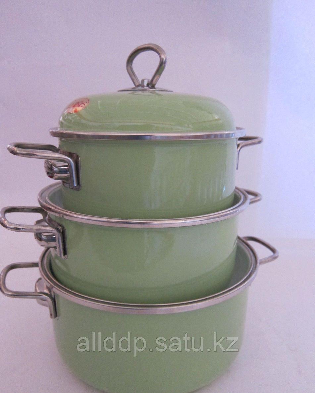 """Набор 176 """"Green Apple Зелёное яблоко"""" С-176АП4/3Сзл"""