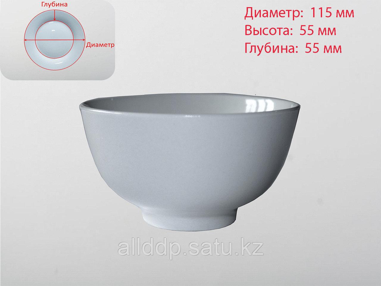 Пиала, белая, D 115 мм