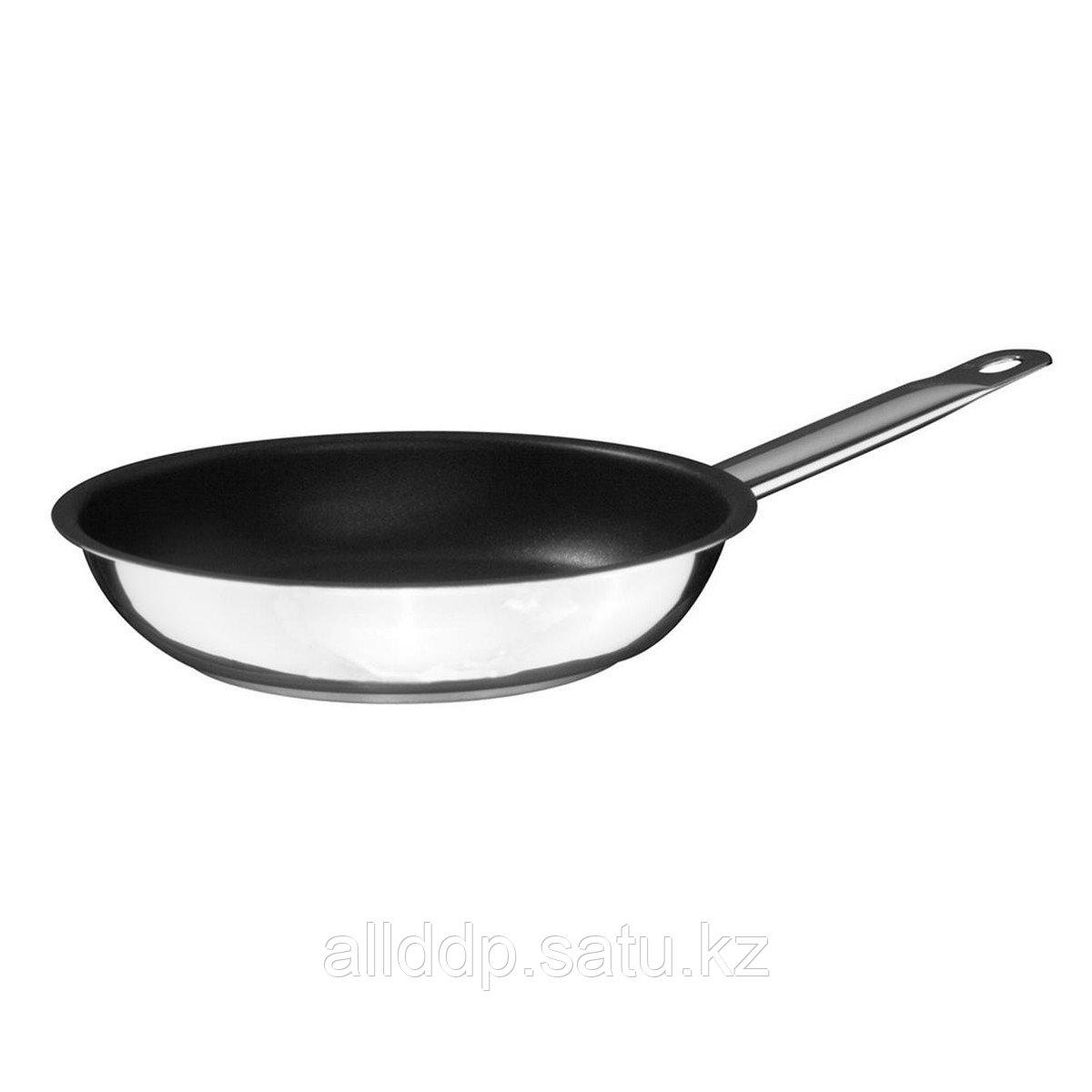 Сковорода профессиональная, 24 см, сталь, тефл.покрытие