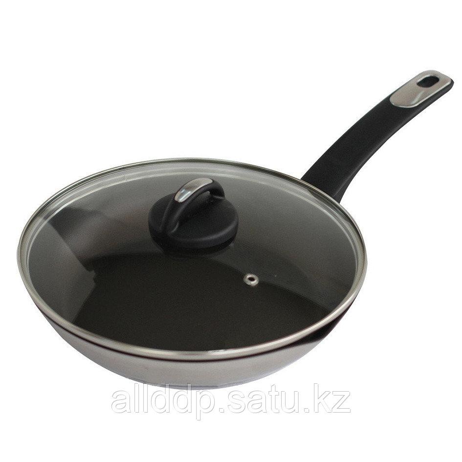 Сковорода с крышкой, 28 см
