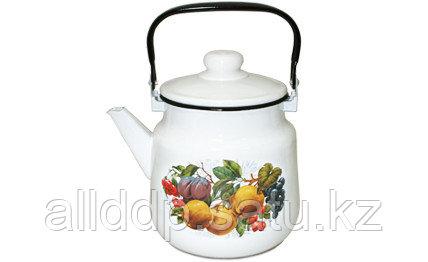 Чайник 3,5л 01-2713/4- Фрукты-овал-Г