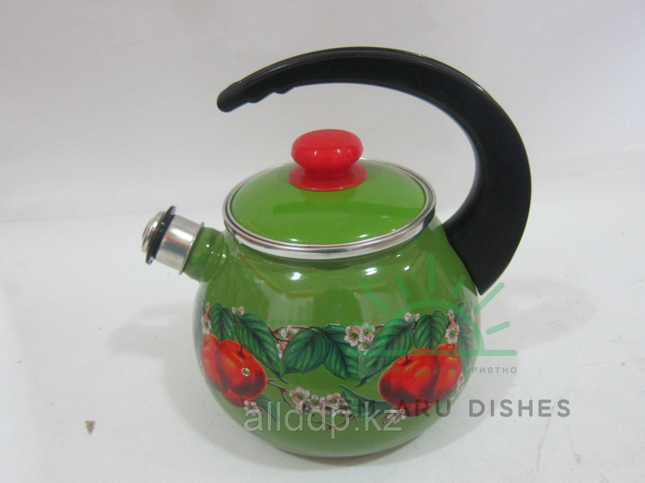 """Чайник с крышкой """"Яблоко зелёное"""" 2,5л В2711/4яблз"""