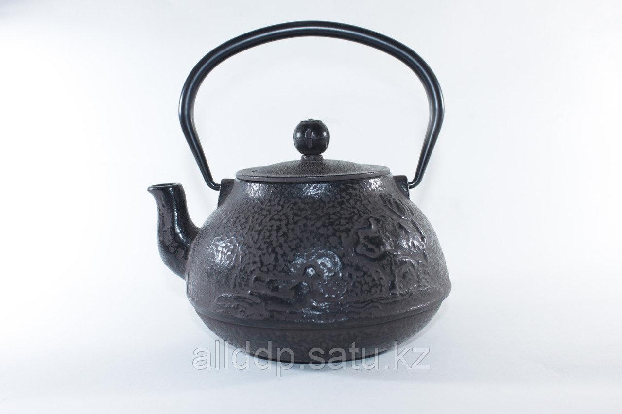 Чайник чугунный, «Весенний пруд»