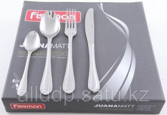 3186 FISSMAN Набор столовых приборов Juana матированный 24 пр. (нерж. сталь)