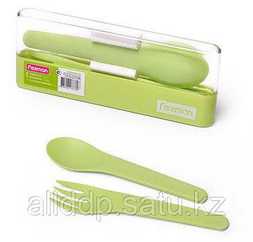 3776 FISSMAN Набор столовых приборов 2 предмета (пластик)