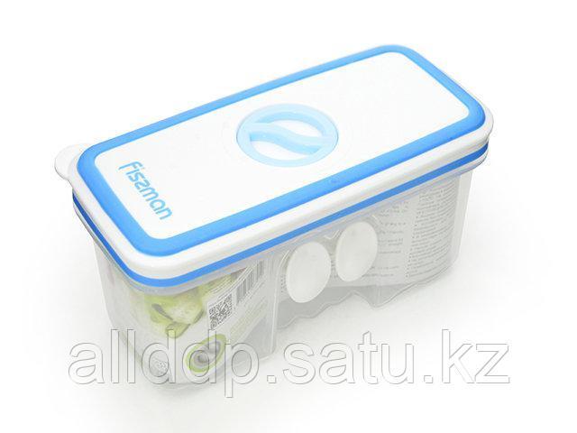 6791 FISSMAN Прямоугольный контейнер для хранения продуктов 14,8x7,1x7,8 см / 0,48 л (пластик)