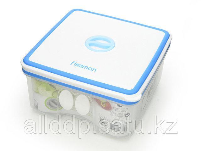 6795 FISSMAN Квадратный контейнер для хранения продуктов 14,8x14,8x7,8 см / 1,15 л (пластик)