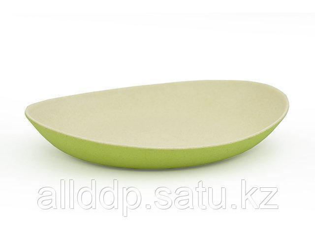 7152 FISSMAN Глубокая тарелка 24 см зеленая (бамбуковое волокно)