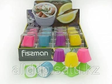 7626 FISSMAN Солонка и перечница в форме настольной лампы (силикон)