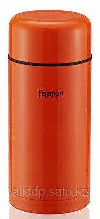 7878 FISSMAN Термос 1000 мл оранжевый (нерж. сталь)