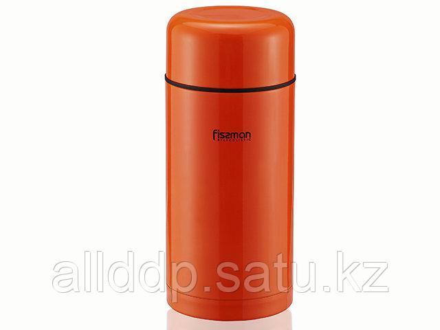 7881 FISSMAN Термос 1200 мл оранжевый (нерж. сталь)