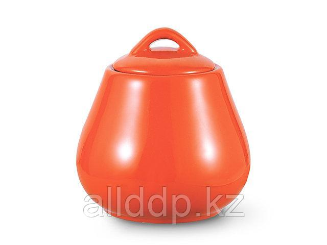 9337 FISSMAN Сахарница 600 мл, цвет ОРАНЖЕВЫЙ (керамика)