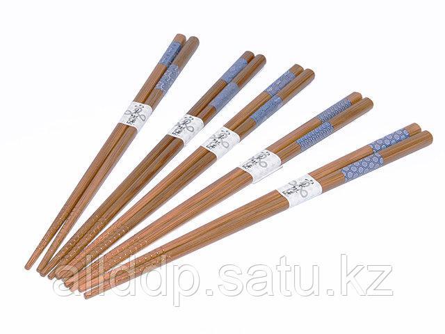9585 FISSMAN Набор из 5 пар палочек для суши 22 см (бамбук)