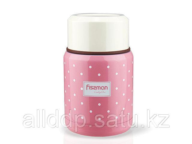 9666 FISSMAN Термос для пищи 350 мл (нерж. сталь)